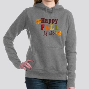 Happy Fall Yall! Women's Hooded Sweatshirt