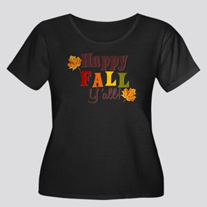 Happy Fall Yall! Plus Size T-Shirt