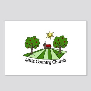 Little Country Church Postcards (Package of 8)