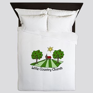 Little Country Church Queen Duvet