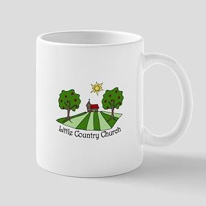 Little Country Church Mugs