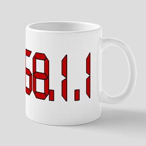 192.168.1.1 Red Mug