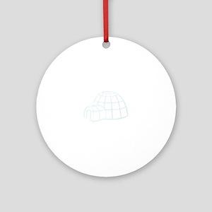 Igloo Ornament (Round)