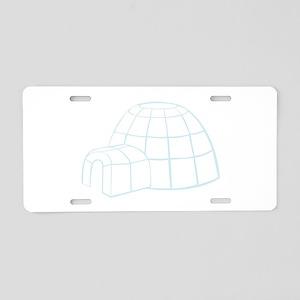 Igloo Aluminum License Plate