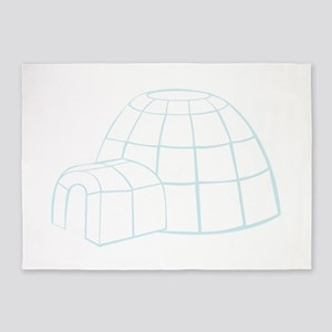 Igloo 5'x7'Area Rug
