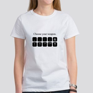Choose Your Weapon (punctuation) T-Shirt