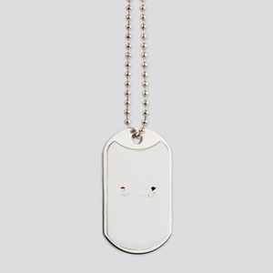 Snowball Fight Dog Tags