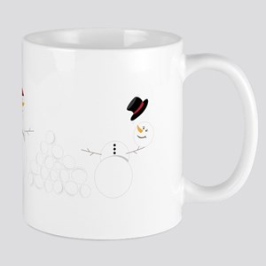 Snowball Fight Mugs