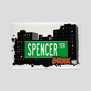 SPENCER TER, Bronx, NYC Rectangle Magnet
