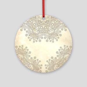 Vintage Ornament (Round)