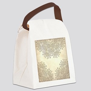 Vintage Canvas Lunch Bag