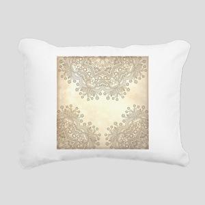 Vintage Rectangular Canvas Pillow