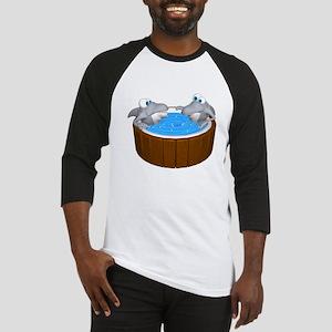 Sharks in a Hot Tub Baseball Jersey