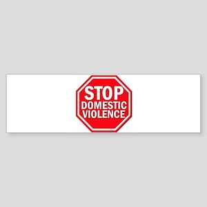 STOPDOMVIOLENCE Bumper Sticker