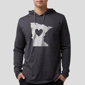 Heart Minnesota Long Sleeve T-Shirt