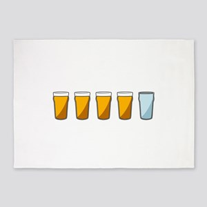 4 Beers and 1 Tapwater (Shaun of the Dead) 5'x7'Ar