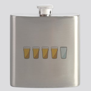 4 Beers and 1 Tapwater (Shaun of the Dead) Flask