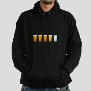 4 Beers and 1 Tapwater (Shaun of the Dead) Hoodie