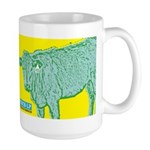 The 413 Cow Large Mug