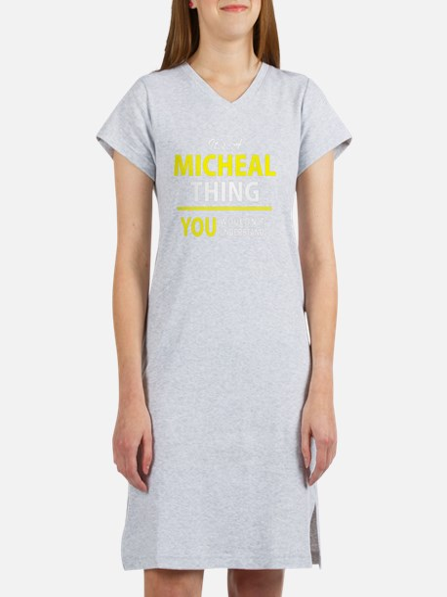Cute Micheal Women's Nightshirt