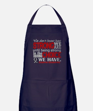 Diabetes How Strong We Are Apron (dark)
