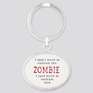 Outrun The Zombie 3 Keychains