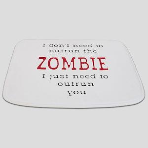 Outrun The Zombie 3 Bathmat