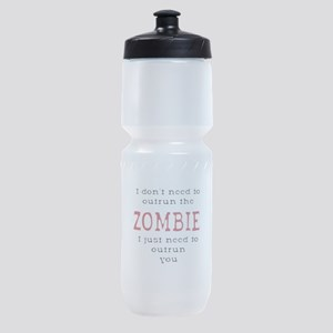 Outrun The Zombie 3 Sports Bottle