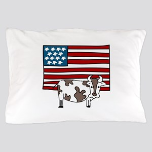 American Flag farming Cow Chicken Spade Rake Beef