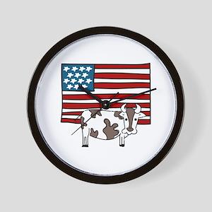 American Flag farming Cow Chicken Spade Rake Beef