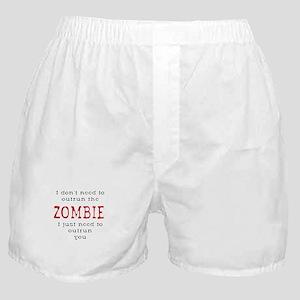 Outrun The Zombie 3 Boxer Shorts