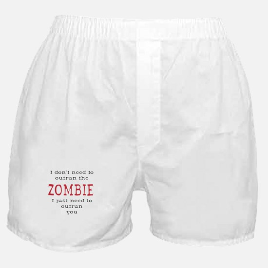 Outrun The Zombie 3 Boxer Shorts