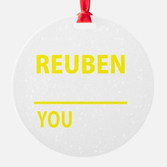 Unique Reuben Ornament