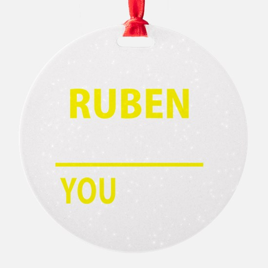Cute Ruben Ornament