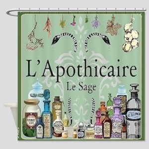 L'apothicaire Shower Curtain