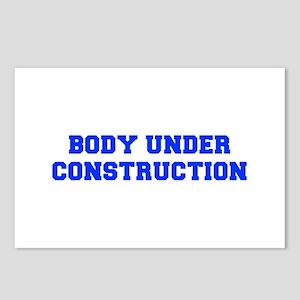 BODY-UNDER-COSTRUCTION-FRESH-BLUE Postcards (Packa