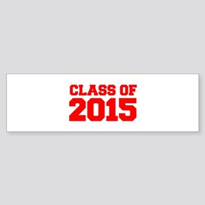 CLASS-OF-2015-FRESH-RED Bumper Sticker