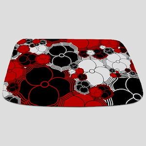 Fantasy Flower Motif Bathmat