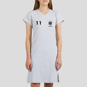 Germany Custom Jersey Women's Nightshirt