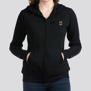 Germany Custom Jersey Women's Zip Hoodie