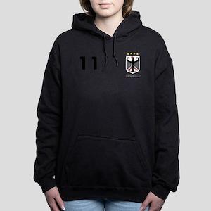 Germany Custom Jersey Women's Hooded Sweatshirt