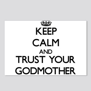 Keep Calm and Trust your Godmother Postcards (Pack