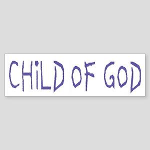 Child of God Bumper Sticker