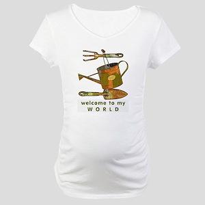 Garden Tools Maternity T-Shirt