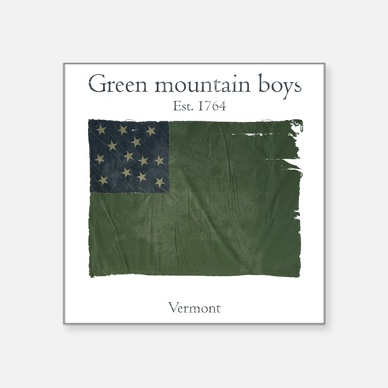 Green Mountain boys Sticker