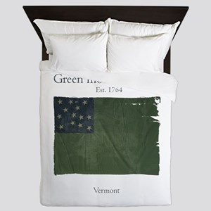 Green Mountain Boys Queen Duvet