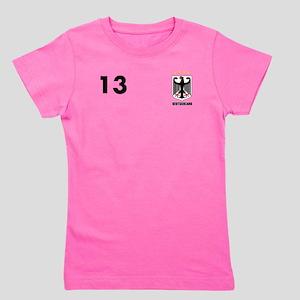Custom Germany (Deutscland) T-Shirt 13 Girl's Tee