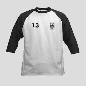 Custom Germany (Deutscland) T-Shirt 13 Baseball Je