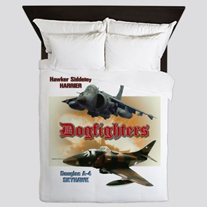 Dogfighters: A-4 vs Harrier Queen Duvet