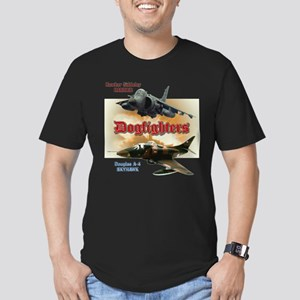 Dogfighters: A-4 vs Ha Men's Fitted T-Shirt (dark)